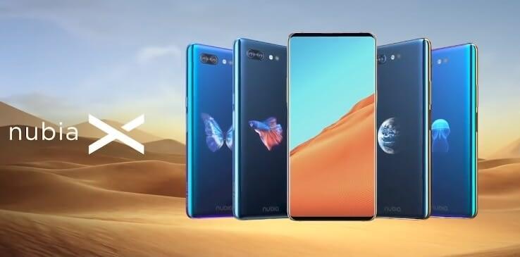 Смартфон с двумя экранами - Nubia X