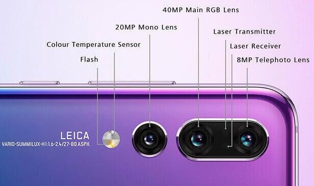 HUAWEI P20 Pro с тремя топовыми камерами